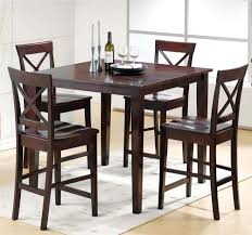 Indoor Bistro Table And Chair Set Table Design Pub Table Sets With Leaf Pub Table Leather Chairs