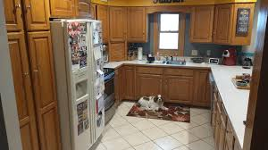 refinishing kitchen cabinets reddit how should i refinish my kitchen cupboards any