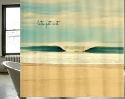 Surfer Shower Curtain Fabric Shower Curtain Classic Retro Vw Bus Camper Peace