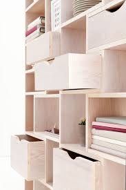 Wooden Storage Shelves Designs by Best 25 Plywood Shelves Ideas On Pinterest Plywood Bookcase