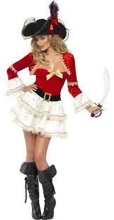 Halloween Pirate Costumes Women U0027s Seductive Pirate Wench Deluxe Costume Pirate