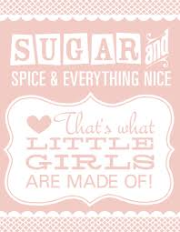 sugar and spice and everything baby shower luck kisses and cake the pink cards babies and
