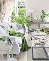 how to decorate with pantone color of the year greenery setting