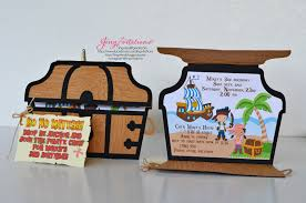jake and the neverland pirate invitations jingvitations