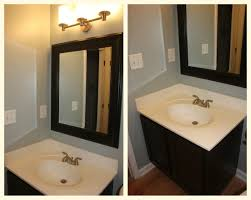 Powder Room Sinks Our Powder Room Redo Using Rustoleum Cabinet Transformations