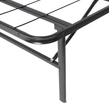 Metal Bed Frame No Boxspring Needed Best Choice Products Platform Metal Bed Frame Foldable