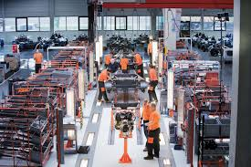 production of the ktm x bow at the graz facility ktm blog