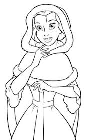 princess coloring pages princess belle coloring pages disney