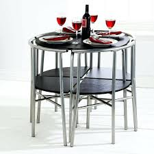space saver table set decoration space saver tables and chairs full size of home