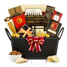 thank you basket thanks gourmet gift basket ship to us only