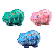 his and piggy bank money savvy piggy bank