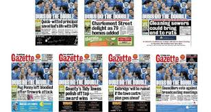 Seeking Titles Dublin Gazette To Cut Back Number Of Titles It Publishes