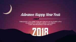 advance happy new year 2018 wishes quotes images