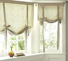 Tie Up Valance Curtains Tie Up Curtain Valance Tie Up Valance Window Curtain Images 1 2 3