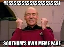 Meme Generator Own Picture - yesssssssssssssssssss southam s own meme page pickard win meme