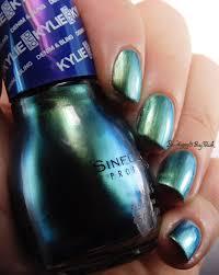 sinful colors kylie duochrome nail polishes kleopatra kameleon