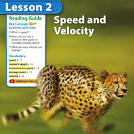 speed and velocity chapter 1 lesson 2 tutorial sophia learning
