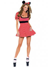 minnie mouse costume womens sleeve minnie mouse costume