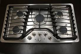 Ge 36 Gas Cooktop Ge Profile Series 36 Built In Gas Cooktop Pgp976setss What U0027s