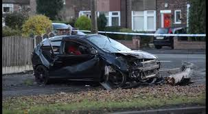 live man seriously injured after car crashes into tree during