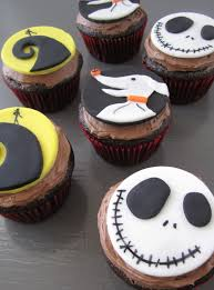 nightmare before christmas cupcake toppers tutorialvegan chow down