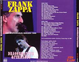 Sofa Frank Zappa Frank Zappa Dragonmaster U0026 Fernando 2cdr U2013 Giginjapan