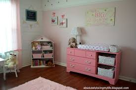 Pink Changing Table by Loving Life Upcycled Goodwill Dresser Repurposed Into Nursery