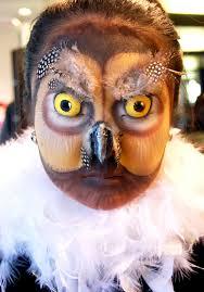 Owl Halloween Makeup by Owl Makeup