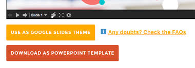 how to use presentation templates from slidescarnival
