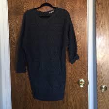 79 off joan vass dresses u0026 skirts joan vass sweater dress from