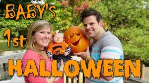 babys 1st halloween baby u0027s first halloween baby steps cullen u0026 katie youtube