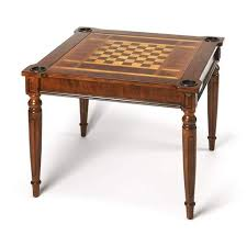 large multi game table butler vincent antique cherry multi game card table 837011 floor