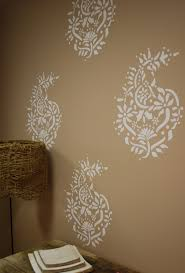 Decorative Wall Stencils Wall Painting Stencil Wall Stencils Scallop Pattern Allover