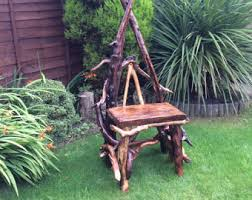 Driftwood Outdoor Furniture by Driftwood Bench Etsy