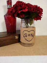 jar center pieces best 25 burlap centerpieces ideas on country wedding