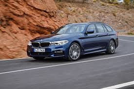bmw station wagon 2018 bmw 5 series touring debuts automobile magazine