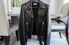 classic leather motorcycle boots saint laurent leather biker jacket felix fashion reviews youtube