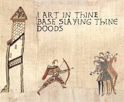 Bayeux Tapestry Meme - bayeux tapestry meme goodness history