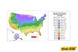 Gardening Zones Usa Map - tree planting zones in the usa list of popular species for each zone