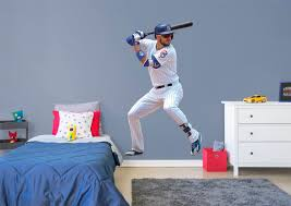 life size kris bryant fathead wall decal shop chicago cubs kris bryant fathead wall decal
