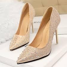 lakeshi pumps women bling high heels shoes women fashion summer