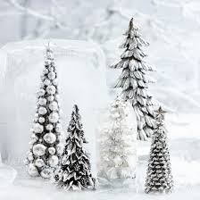 silver christmas lene bjerre topped silver christmas tree ornament 46cm