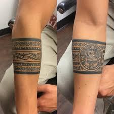 tribal forearm armband mens hawaiian tattoos tattoo ideas