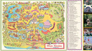 magic kingdom disney map walt disney celebrates 45th anniversary