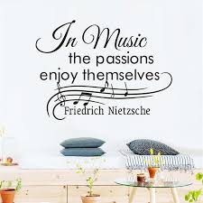 music note home decor dctop in music the passions enjoy themselves wall stickers musical