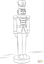 nutcracker soldier coloring page free printable coloring pages