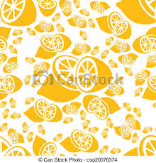 seamless lemon pattern seamless lemon pattern vectors illustration search clipart