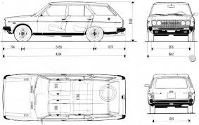 Fiat 131 Supermirafiori 4 Doors Specs 1978 1979 1980 1981 Autoevolution by 1974 Fiat 131 Mirafiori Gallery Cars Wallpaper Free