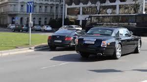 roll royce bentley rolls royce phantom coupe u0026 bentley continental gt youtube