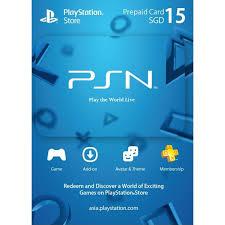 digital play gift card psn card 15 sgd playstation network singapore digital